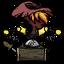 Fiery Witch's Hat - Prestihatitator Icon