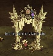 Идол из лунного камня использование