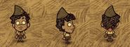Уолтер в шляпе пионера