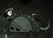 Pig king sleep