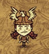 Вигфрид в шлеме