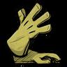 Sulfuric Yellow Long Gloves скин