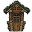 Деревенский дом свина