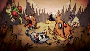 Critters загрузочный экран