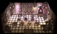 The Sow's Ear Hat Shop interior