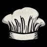 Head Chef's Hat Icon