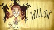 Уиллоу карточка развёрнутая