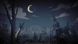 A Cold Moonlit Night загрузочный экран