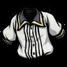 Pure White Pleated Shirt скин
