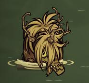Травяной аллигатор в игре