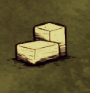Каменный блок на земле