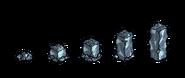 Стадии разрушения стены из лунного камня