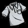 Marble White Collared Shirt скин