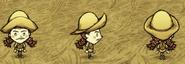 Вигфрид в дождевой шляпе