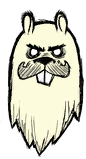 Бобёр-Вуди призрак