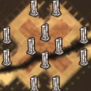 Колоны на карте