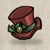 Tophat festive bell red firehound collection icon