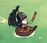 Chapeau pirate ig