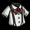 Pure White Suspension Shirt скин