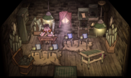 The Tinkerer's Tower interior