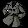 Stormcloud Gray Trench Coat скин