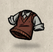 Sweatervest red firehound collection icon