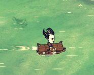 Wilson on cargoboat