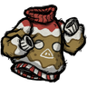 Ugly Gingerbread Sweater скин