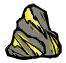Gold Vein Boulder Icon