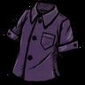 Plethora Of Purple Buttoned Shirt скин
