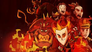The Forge Saga загрузочный экран