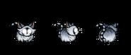 Снежный енотокотёнок в игре