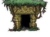Anciennes ruines porcines
