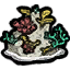 Иконка кораллового рифа на карте