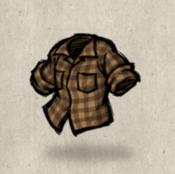 Flannel orange lumberjack collection icon