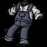 Hyper-Intelligent Blue Overalls скин