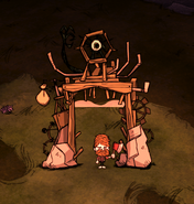 Jury-Rigged Portal in-game
