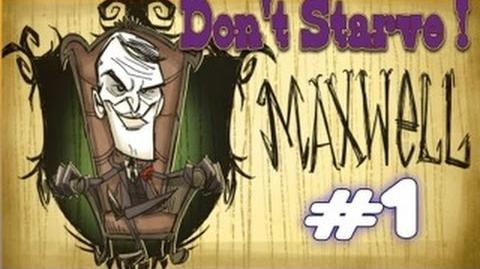 Let's Play Don't Starve Maxwell Episode 1 FR