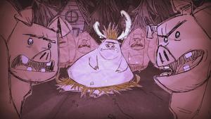 Pig King загрузочный экран