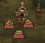 Новогодняя печка!