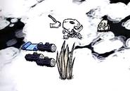 Squelette Roi de l'Hiver