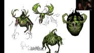 RWP 128 Forest Skeleton Concept Art