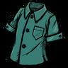 Doydoy Teal Buttoned Shirt скин