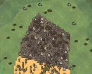 Магмовый на карте