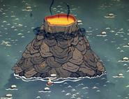 Volcano Ingame