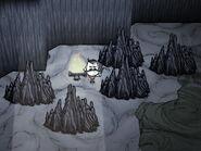 Вольфганг и сталагмиты