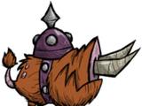 Cochon de la fosse