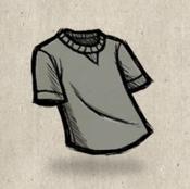 Tshirt grey battleship collection icon