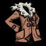 Fishy Tincture Orange Shearling Coat скин