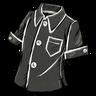 Disilluminated Black Buttoned Shirt скин